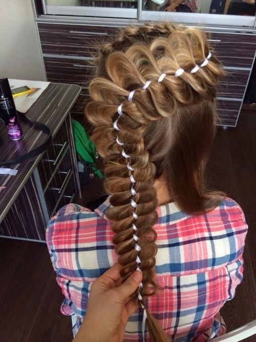 Урок плетения кос для начинающих видео