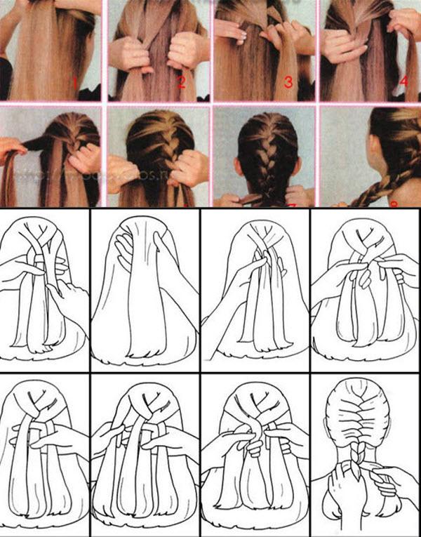 Как плести косы видео фото
